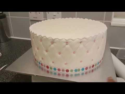 My 'Sewing Kits' Birthday Cake...🎂🎂🎂
