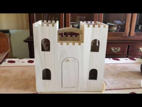 Peg Toys: Wooden Hogwarts Inspired Castle Idea + Update