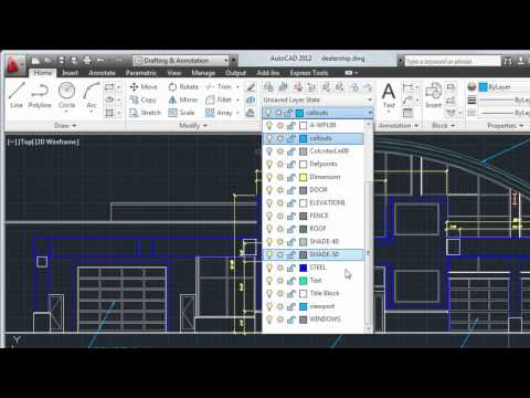 AutoCAD 2012 Tutorial: How To Create Text and Dimensions