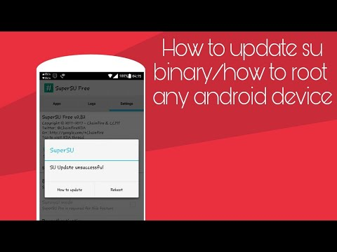 How to update SU binary/how to root any android device step by step 100% working || Dot Log
