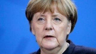 Trump says Merkel made