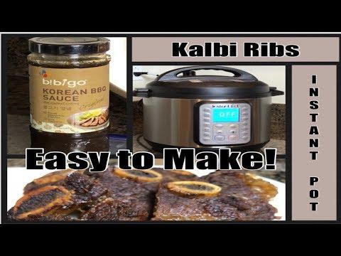 Kalbi Ribs | Instant Pot | Korean BBQ Ribs | Easy to Make