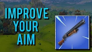 how to hit shotgun shots consistently improve your aim - how to improve your aim in fortnite