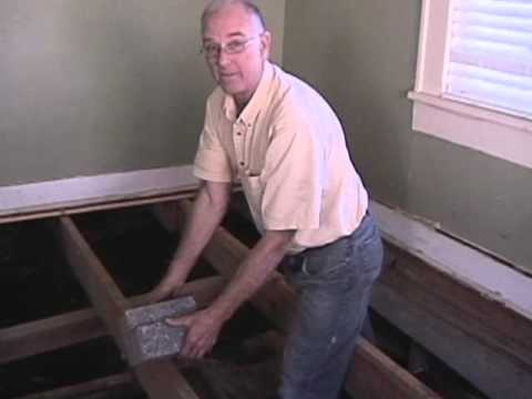 Pier and Beam foundation  part 1