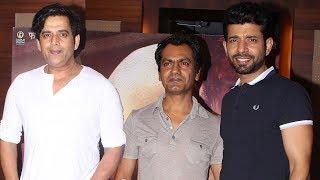 Mukkabaaz Movie Special Screening   Vineet Kumar Singh, Nawazuddin Siddiqui, Ravi Kishan