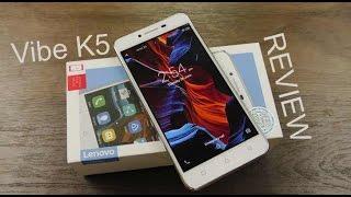 Lenovo Vibe K5 full review in 5 minutes