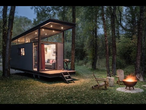 Refined Tiny House Brings The Outdoors In