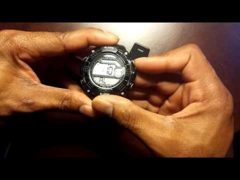 Set the timer on your Armitron Watch 40/8209