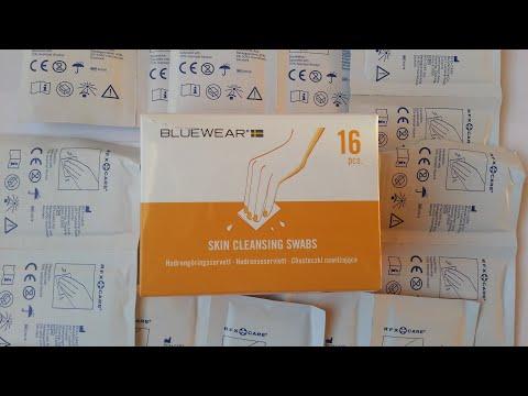Bluewear Skin Cleansing Swabs