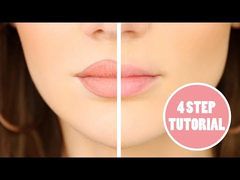 How to fake big lips / change your lip shape - Overline Lips Tutorial | PEACHY