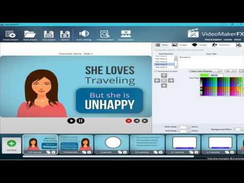 How To Create Animation Video With Video Maker Fx