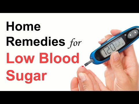Home Remedies for Low Blood Sugar