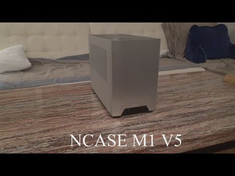 NCASE M1 V5 review with different configurations