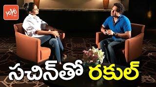 Sachin Tendulkar Interview With Rakul Preet Singh | Sachin - A Billion Dreams | YOYO TV Channel