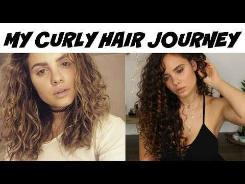 My Curly Hair Journey (with pictures!)