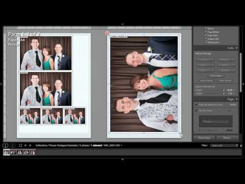 PW141 - Lightroom 3 Quicktips - Picture Packages