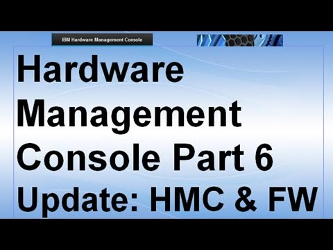 Hardware Management Console v8 Classic Part 6= Upgrade HMC & POWER8 Systems Firmware