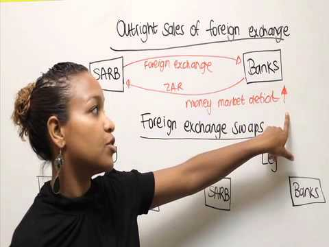 Foreign exchange and money market deficit
