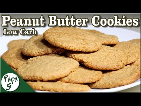 Soft and Chewy Low Carb Peanut Butter Cookies – Keto Cookies