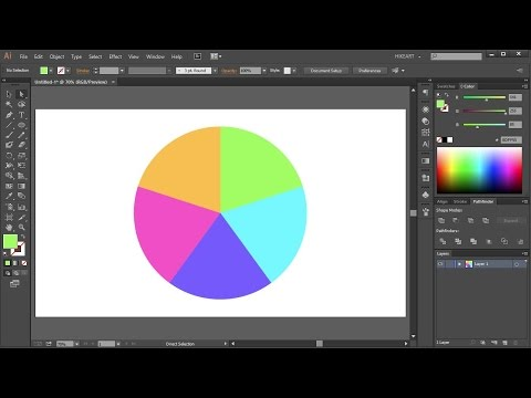 How to Divide a Circle into Equal Parts in Adobe Illustrator - Quick Tips