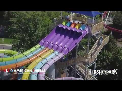 Hersheypark 2018 NEW Water Attractions