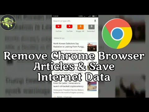 How To Remove Suggested Articles From Chrome On Android