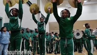Drumline Battle - Sci Tech vs Wilson Middle School 2019