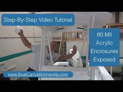 How To Make Boat Canvas, Pattern Boat Canvas Tips And Tricks