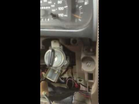 Toyota 4runner 1998 (or before) ignition key cylinder repair replacement