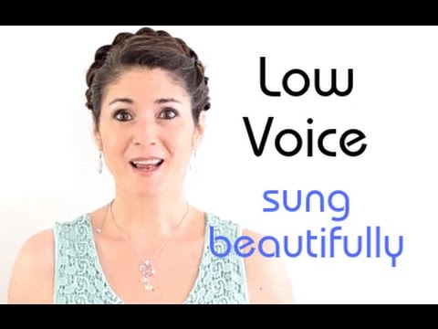 Freya's Singing Tips: How to sing in your LOW VOICE beautifully