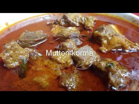 Mutton korma recipe (मटन कोरमा )