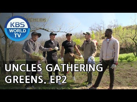 Uncles Gathering Greens I 나물 캐는 아저씨 – Ep. 2 [ENG/2018.05.23]