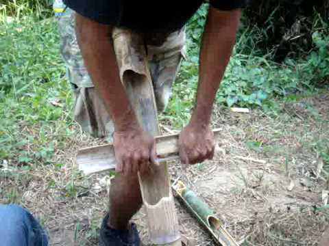 How To Survive in the Philippine Jungle: Match-less Fire Building