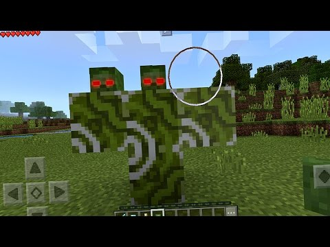 How to Spawn the Zombie Boss in Minecraft Pocket Edition (NO MODS)
