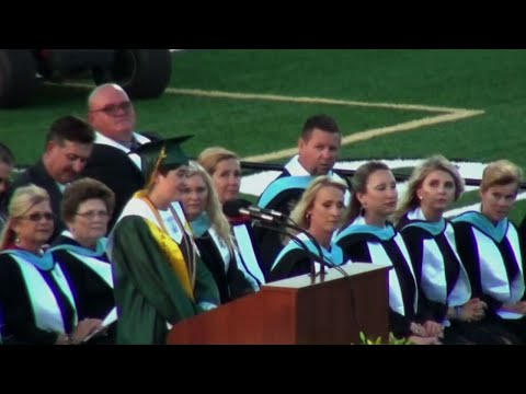 Santa Fe Graduation Ceremony Refers To Tragedy