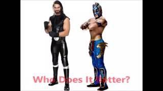 Seth Rollins vs Kalisto- Sliced Bread (Shiranui)