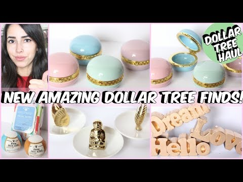 MUST SEE DOLLAR TREE HAUL 2018 NEW FINDS