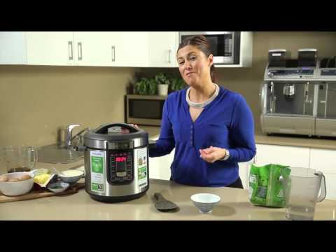 Philips All-in-One Cooker - How to make rice