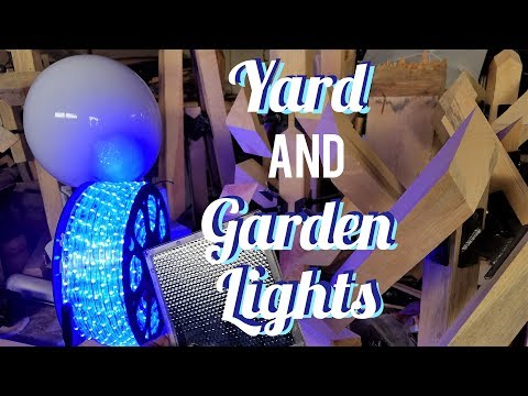 Timber Post Yard and Garden Lights Made Easy