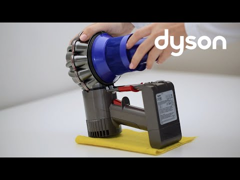 Dyson V6 cord-free vacuums - Replacing the cyclone pack (AU)