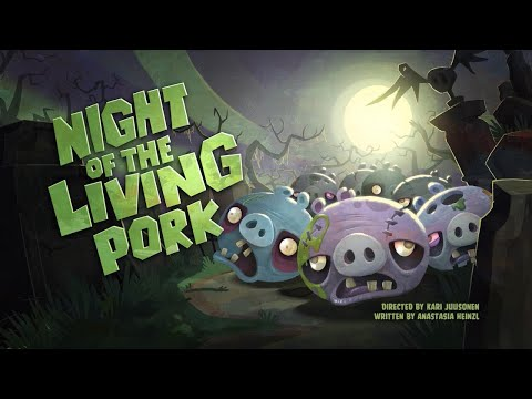Angry Birds Toons   Night of the Living Pork - S1 Ep33 #Halloween