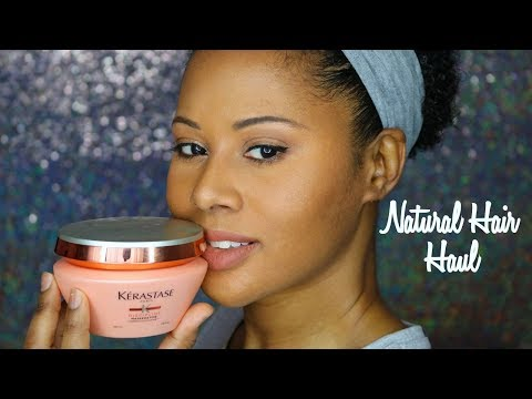 Huge Natural Hair Products & Makeup Haul