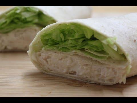 Chicken Caesar Wrap Recipe