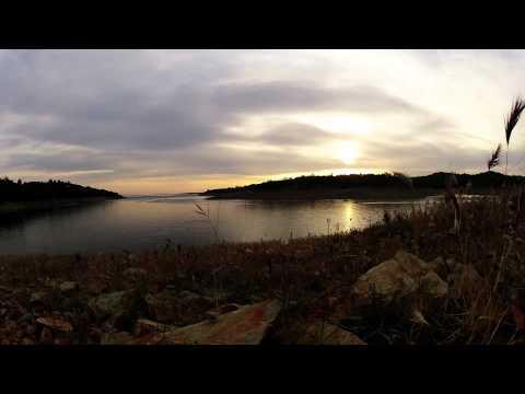 Folsom Lake California Sunset Time-lapse 2014 GOPRO