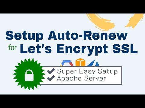 How to Setup Auto-Renew for Let's Encrypt SSL Certificates (Apache)
