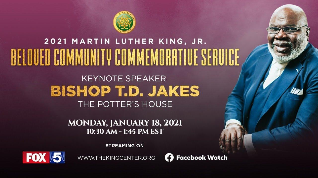 2021 King Holiday Observance Beloved Community Commemorative Service
