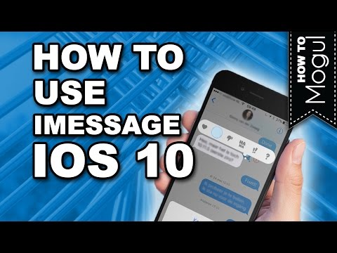 How to use iMessage in iOS 10 on iPhone 6