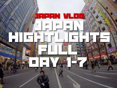 Japan Vlog: Trip to Japan FULL (Day 1-7)