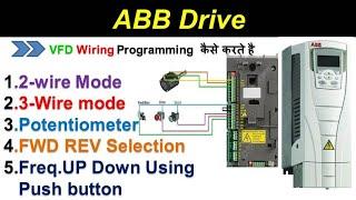 Marvelous Abb Drive Parameter Setting 23 Wire Mode Potentiometer Fwd Rev Hindi Wiring Digital Resources Attrlexorcompassionincorg