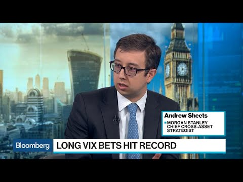 VIX Futures Contracts Spike to Record Net-Long